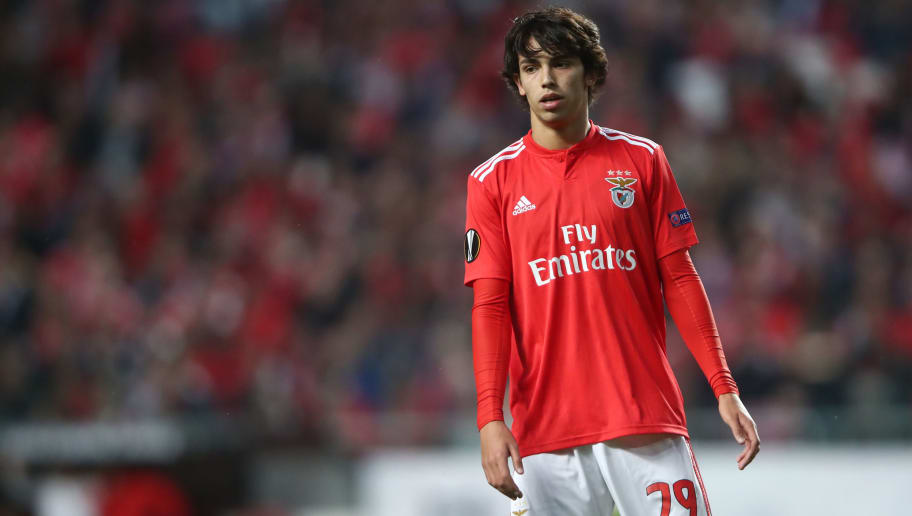 Man Utd willing to meet buyout clause of Benfica starlet Joao Felix
