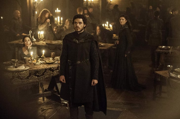 Oona Chaplin, Richard Madden, and Michelle Fairley in Game of Thrones