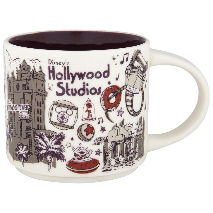 A Hollywood Studios mug