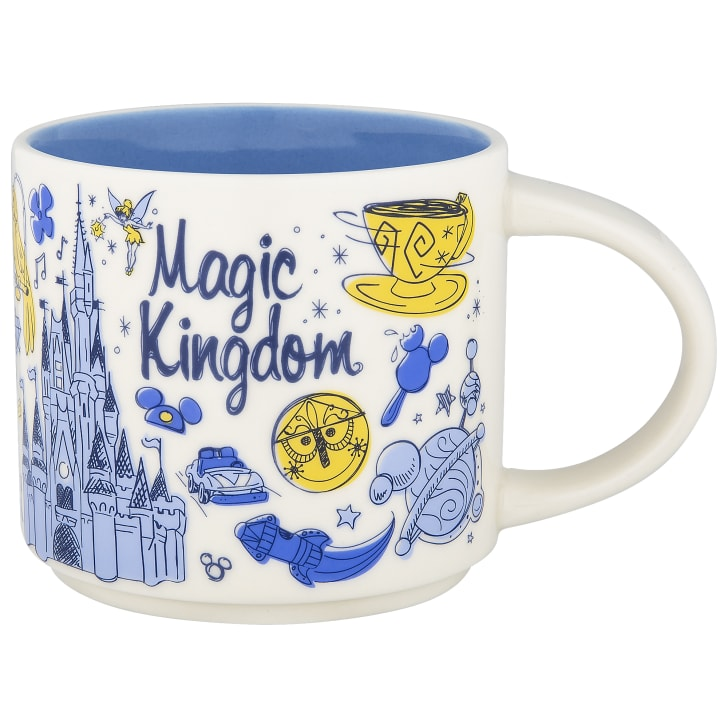A Magic Kingdom mug