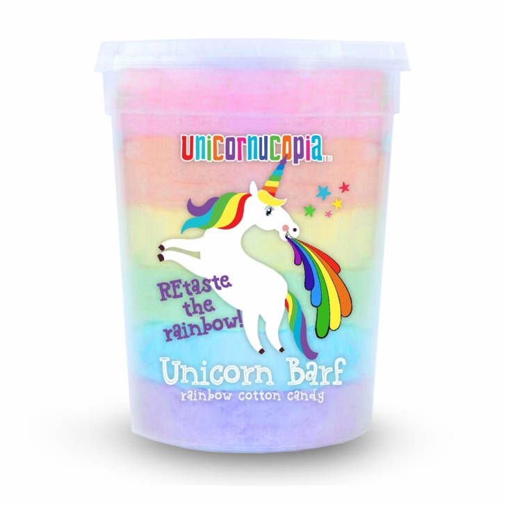 Unicorn Barf cotton candy