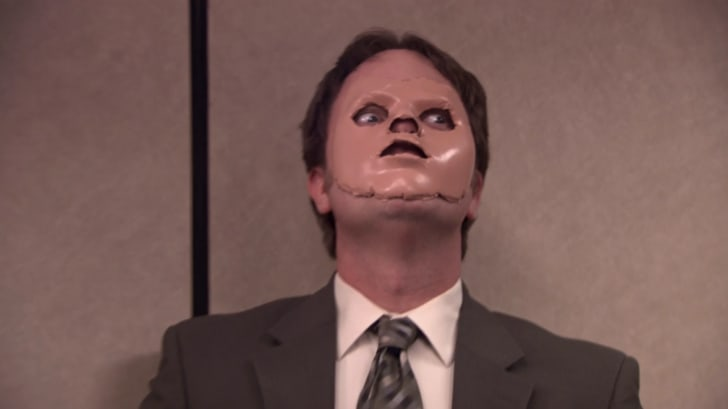 "Rainn Wilson in the ""Stress Relief"" episode of 'The Office'"