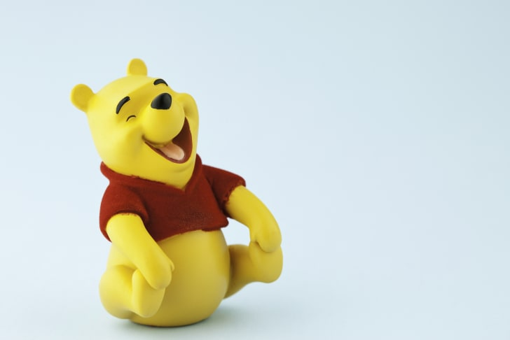 Laughing Winnie the Pooh doll