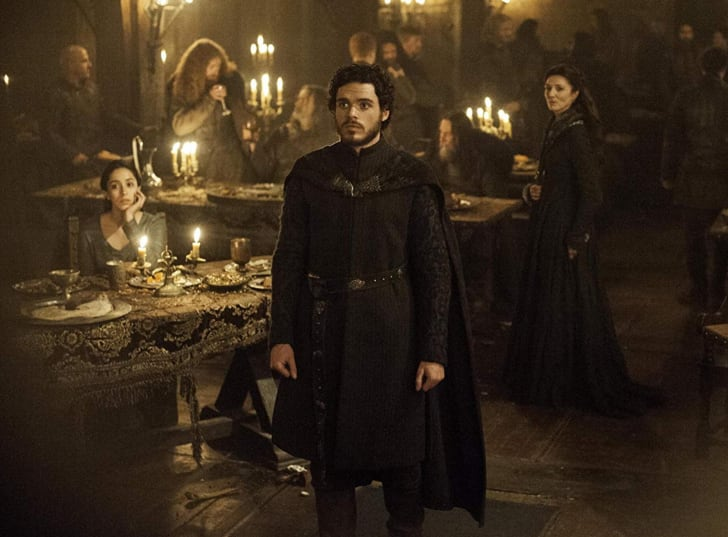 Michelle Fairley, Richard Madden, and Oona Chaplin in Game of Thrones