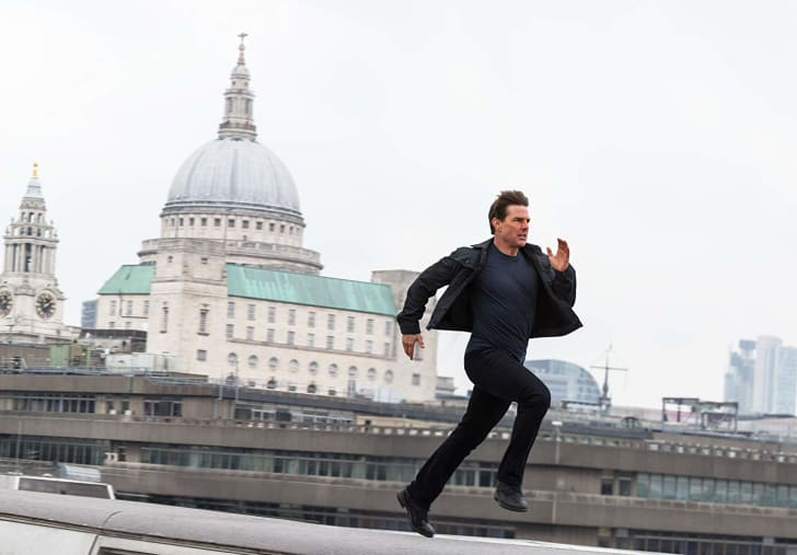 Tom Cruise stars in Mission Impossible - Fallout (2018)