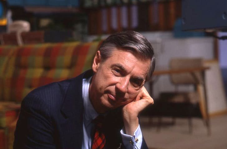 Fred Rogers in a still from 'Won't You Be My Neighbor?' (2018)