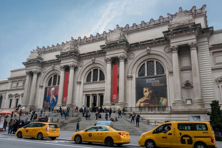 A photo of the Metropolitan Museum of Art in New York City
