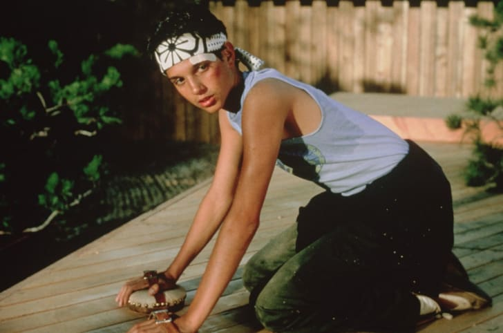 Ralph Macchio stars in 'The Karate Kid' (1984)