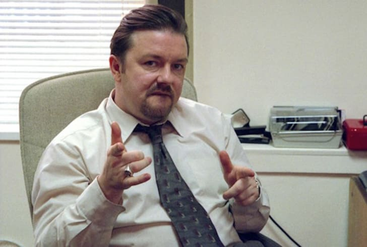 Ricky Gervais stars in 'The Office'