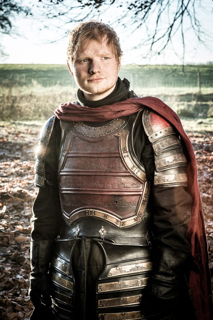 Ed Sheeran in 'Game of Thrones'