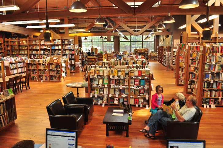 Elliott Bay Books in Seattle, Washington