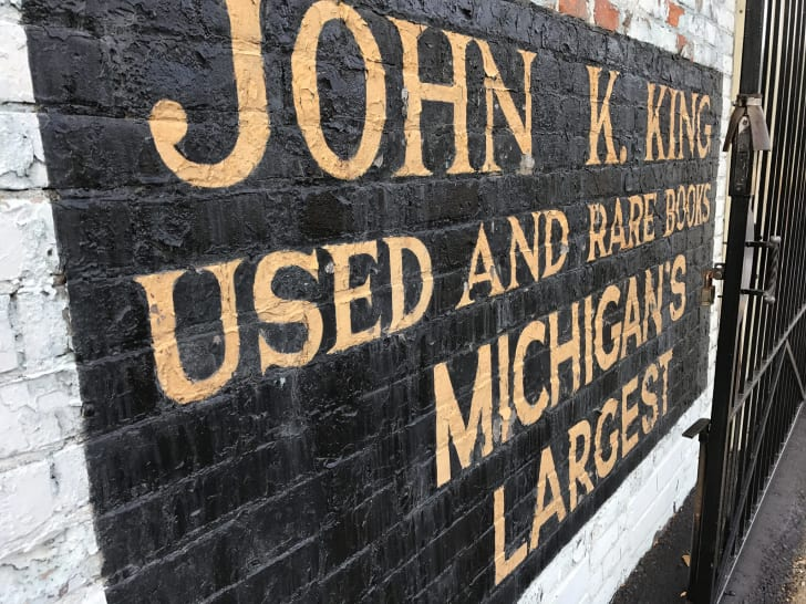 John K. King Used and Rare Books in Detroit, Michigan