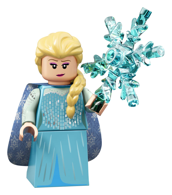 A Disney minifigure