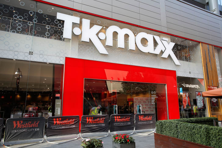 A TK Maxx in London