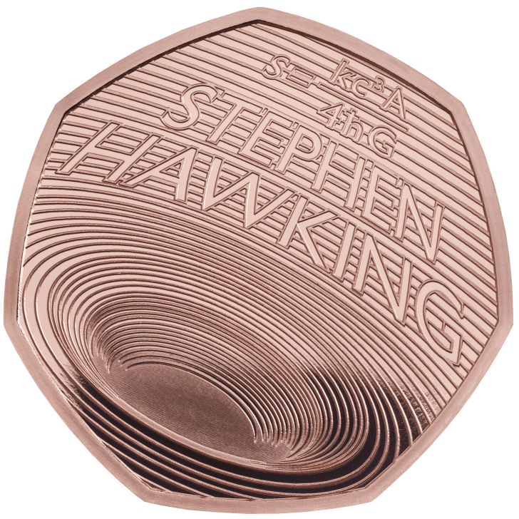 A different Stephen Hawking coin