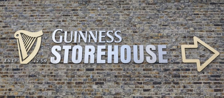 The Storehouse at Guinness Brewery in Dublin, Ireland