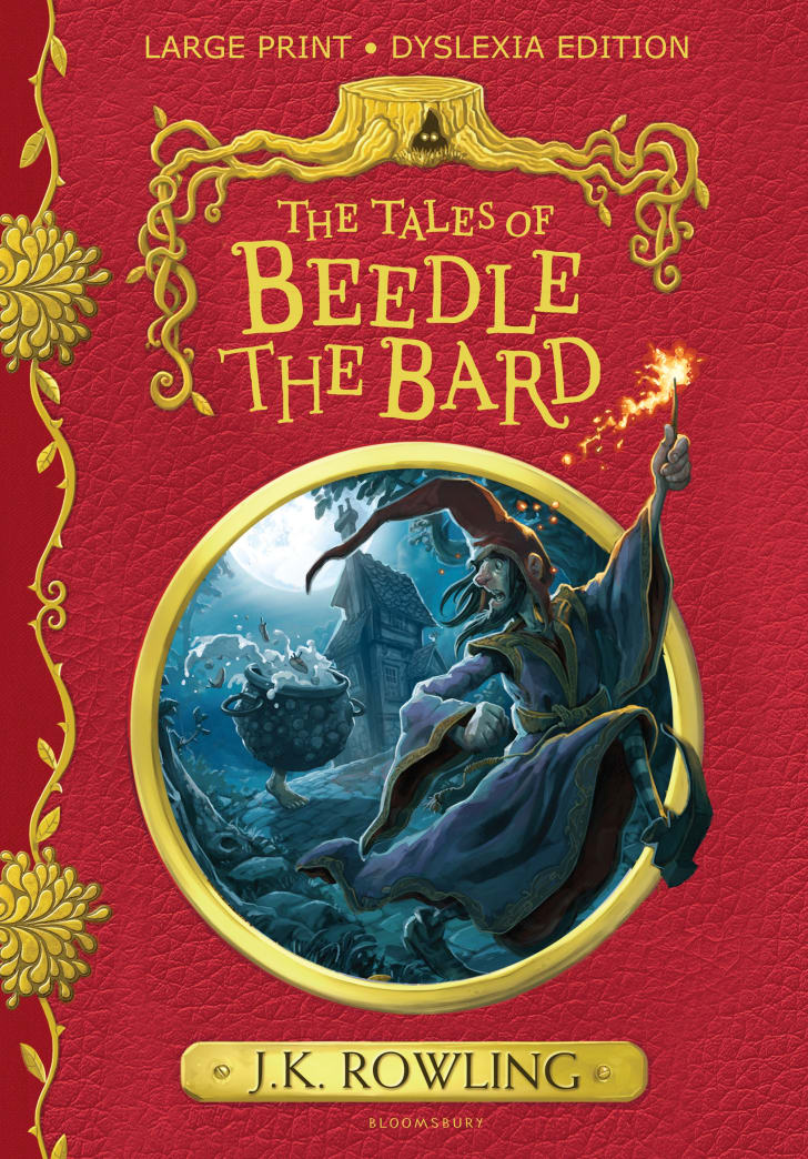 A cover of 'The Tales of Beedle the Bard'