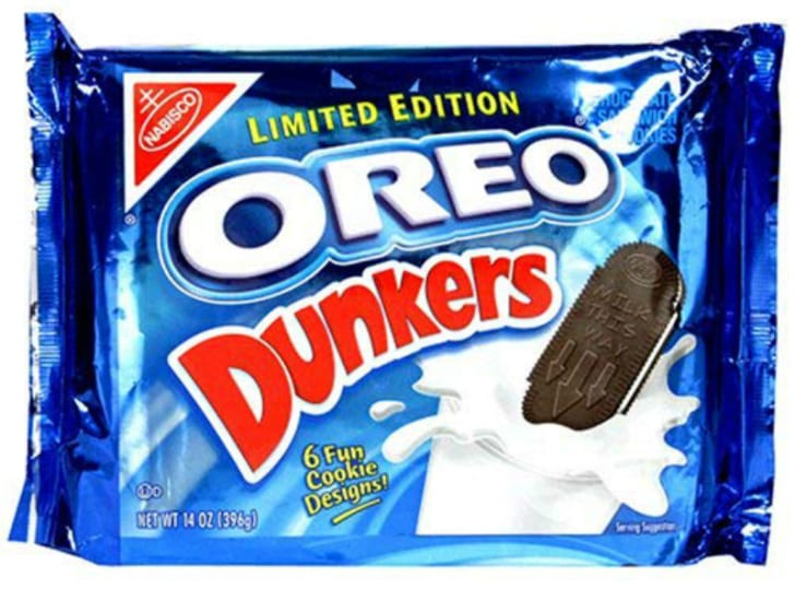 A package of Oreo Dunkers is pictured