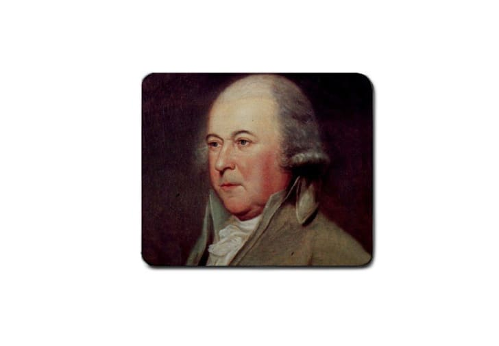 A John Adams mousepad