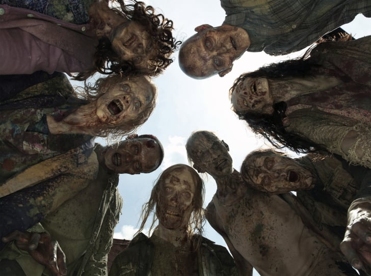 Zombies on 'The Walking Dead' season 5