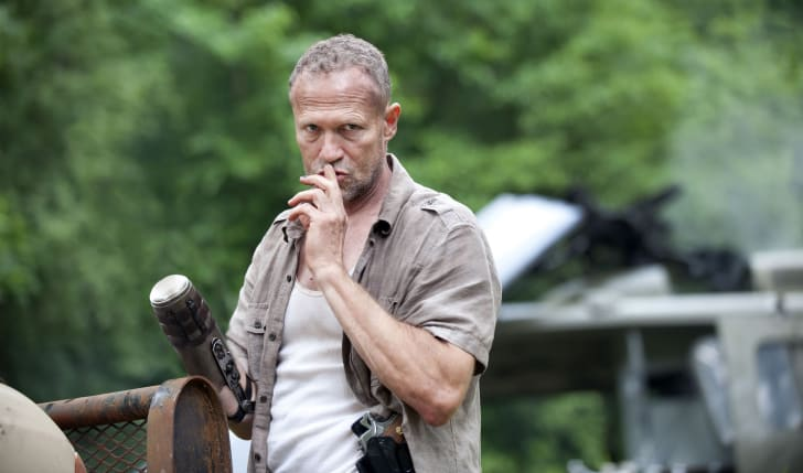 Michael Rooker as Merle Dixon in 'The Walking Dead' season 3