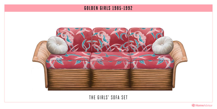 The Golden Girls couch