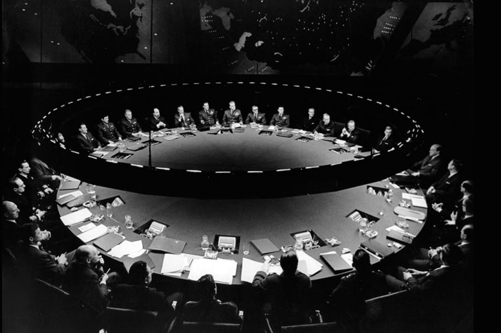 A still from 'Dr. Strangelove' (1964)