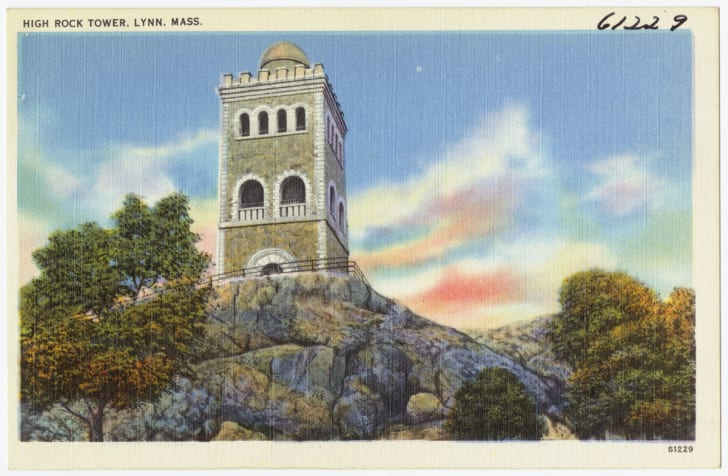 The High Rock Tower, Lynn, Massachusetts
