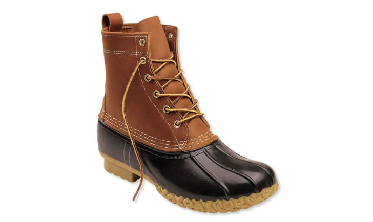 A men's L.L. Bean boot