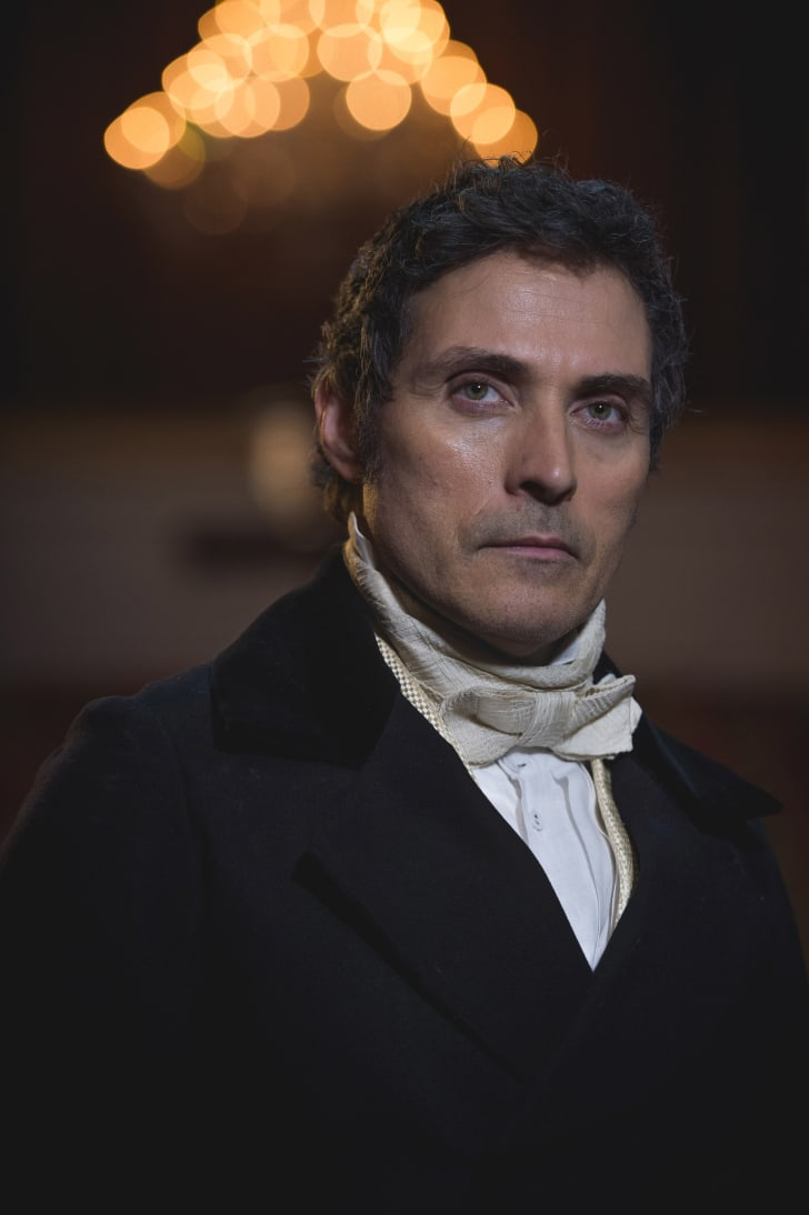 Rufus Sewell as Lord Melbourne in 'Victoria'