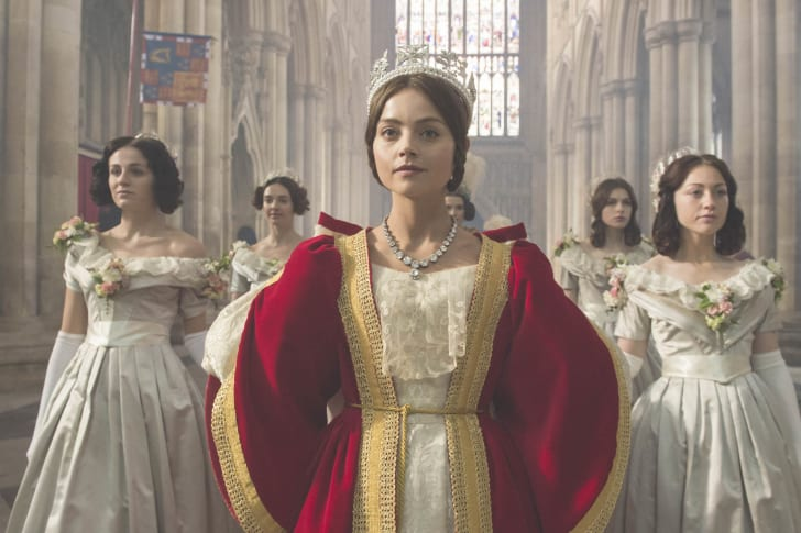 Jenna Coleman as Queen Victoria in 'Victoria'