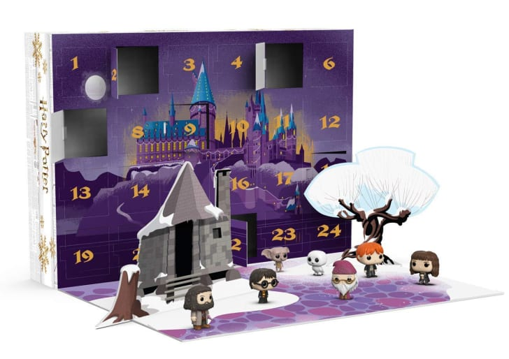 A Harry Potter-themed advent calendar