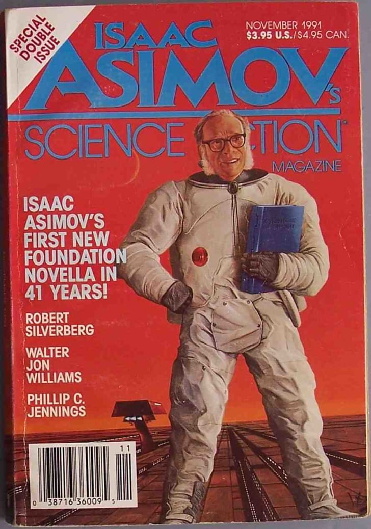 Cover of Asimov on his science fiction magazine