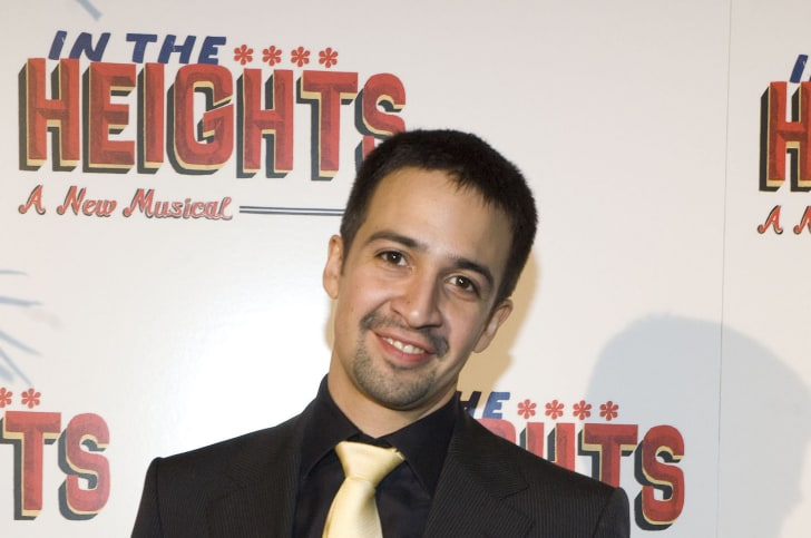 Writer/actor Lin-Manuel Miranda attends the after party for the opening night of 'In The Heights' at the Richard Rodgers Theatre March 9, 2008 in New York City