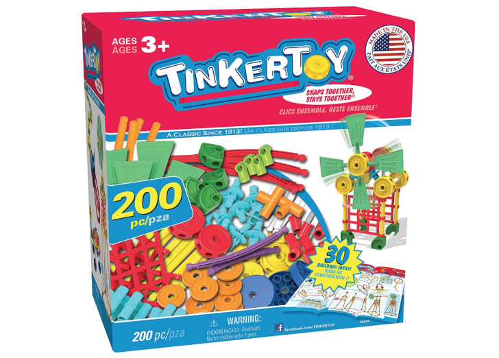 TinkerToy build set