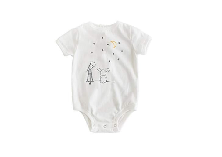 The Dry Baby Bodysuit in Starry Night