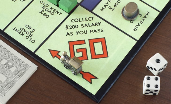 British version of the board game Monopoly