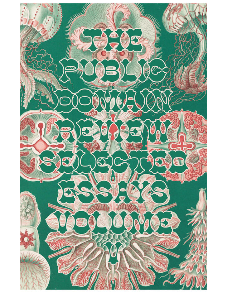 Public Domain Review Selected Essays Vol. 5 jacket image