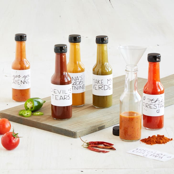 Make Your Own Hot Sauce Kit from Uncommon Goods