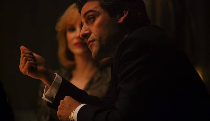 Oscar Isaac and Jessica Chastain in A Most Violent Year (2014)