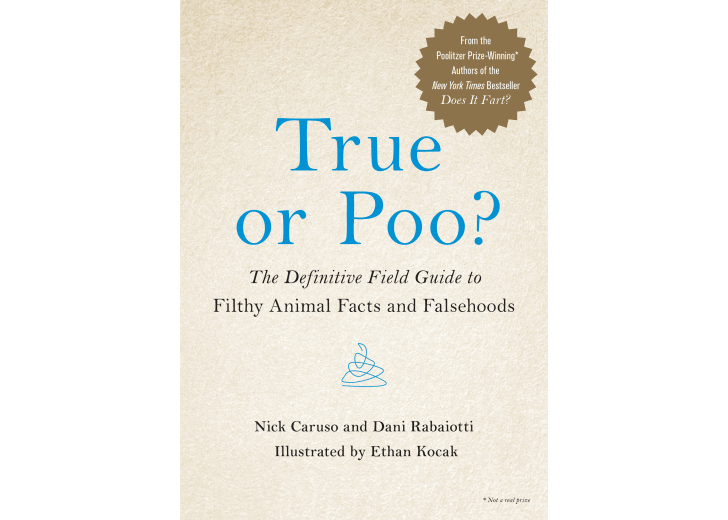 The cover of 'True or Poo?'
