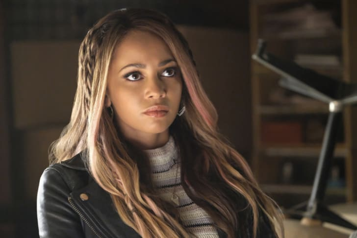 Vanessa Morgan in 'Riverdale'
