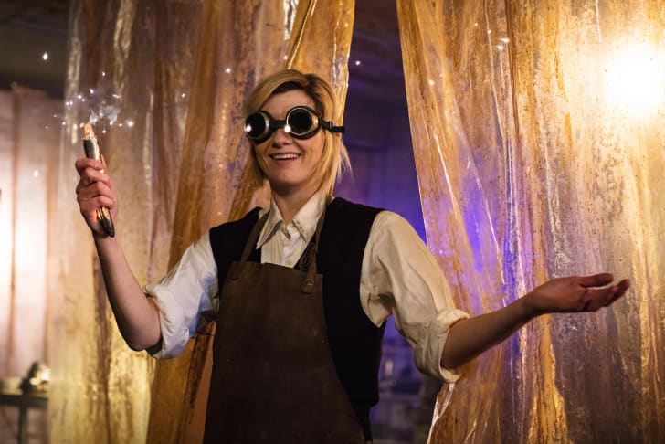 Jodie Whittaker stars in 'Doctor Who'