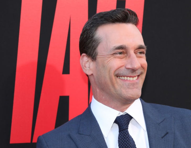 Jon Hamm attends the Premiere Of Warner Bros. Pictures And New Line Cinema's 'Tag' at Regency Village Theatre on June 7, 2018 in Westwood, California