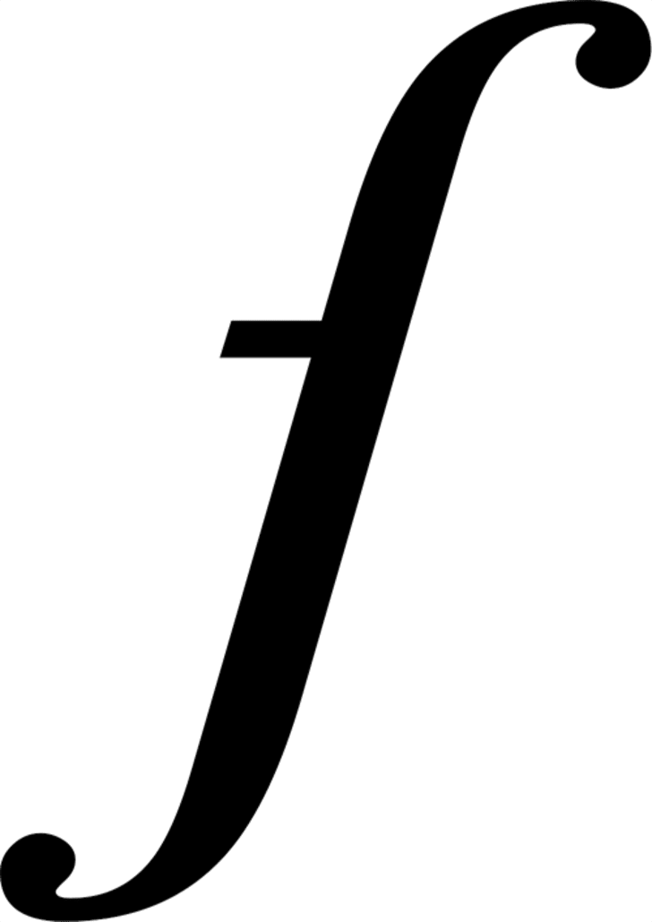 The long s.