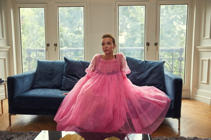 Jodie Comer as Villanelle in 'Killing Eve'