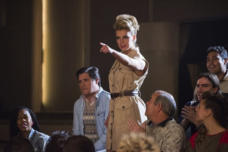 Rich Sommer and Betty Gilpin in 'GLOW'