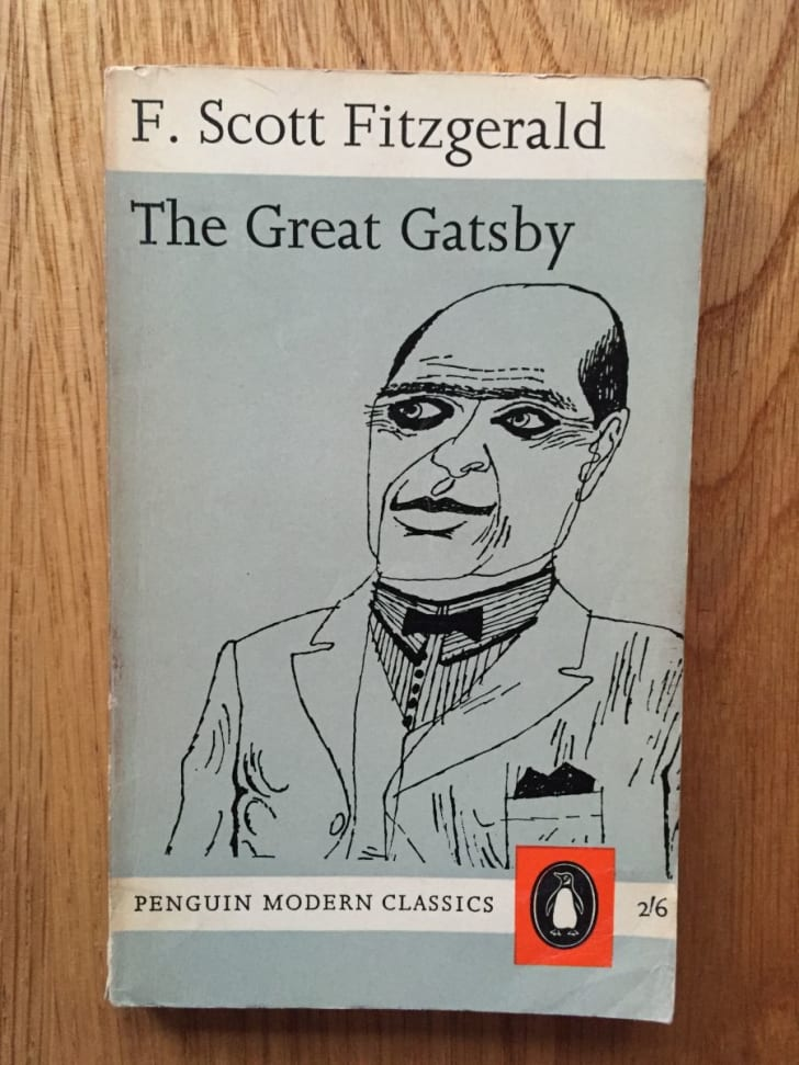 The Great Gatsby cover by John Sewell