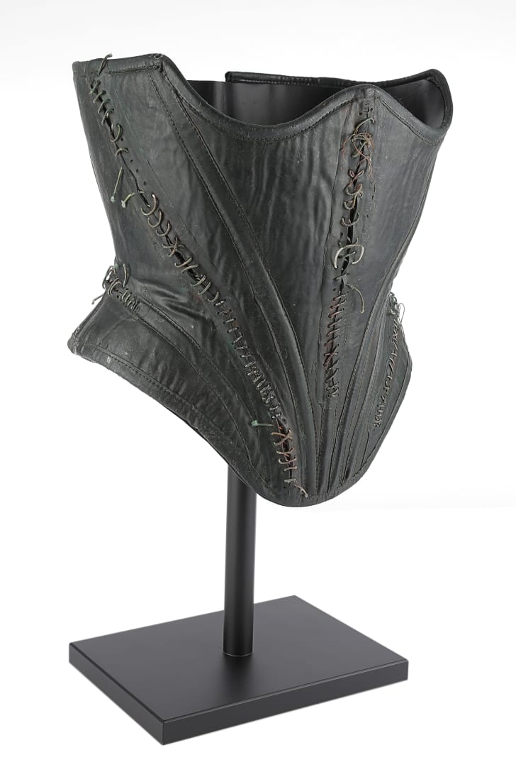 Catwoman's corset
