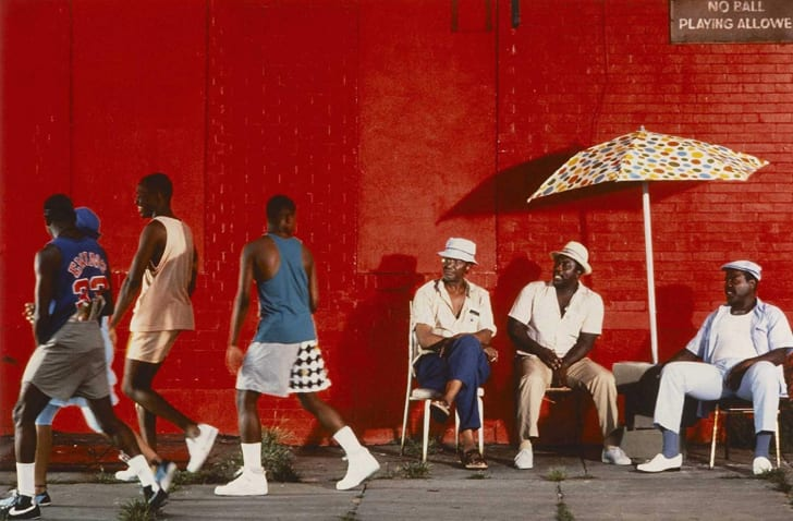 A scene from 'Do the Right Thing' (1989)